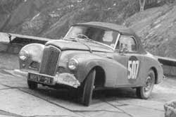 Stirling Moss Alpine Rally