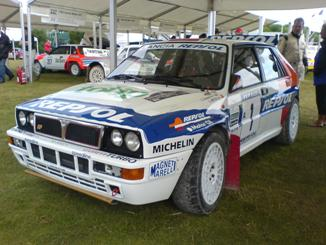 Lancia 2 at Goodwood