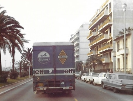 Alpine Transporter in Nice