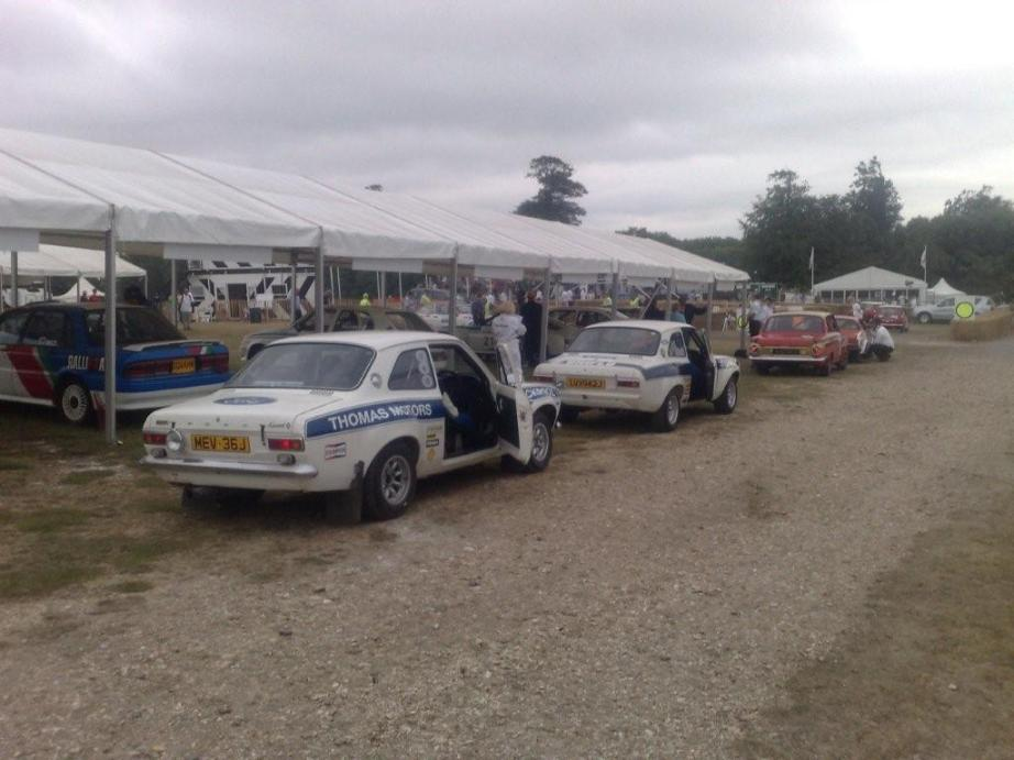 Escorts at Goodwood